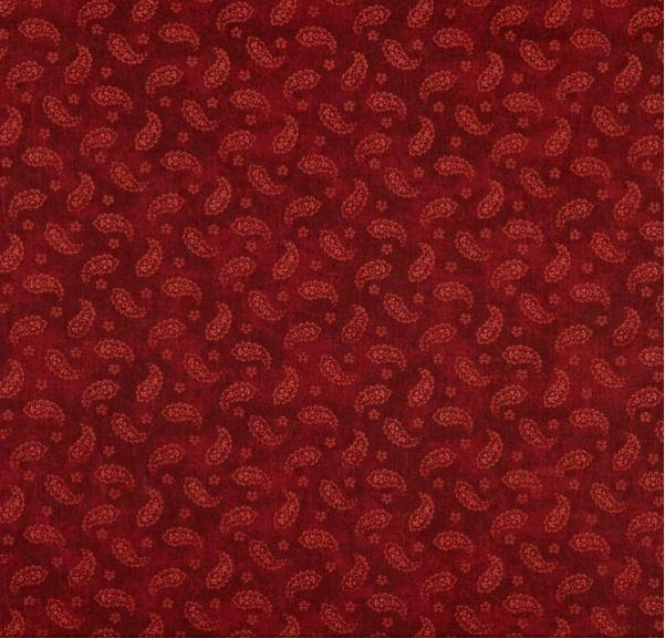 Tarrington Wee Paisley Burgundy