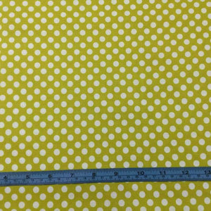 Fabric - Patchwork Spot Chartruese  Green