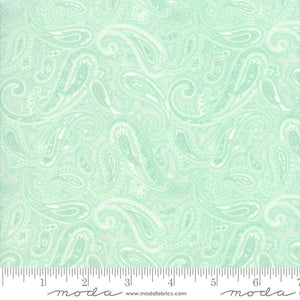 Fabric - Patchwork Rue 1800 Robins Egg Mint