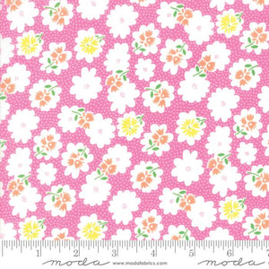 Fabric - Patchwork Fiddle Dee Dee Pink Pink