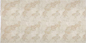 Fabric - Patchwork Faded and Stitched Tan Natural-1