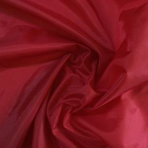 Fabric - Basics Polysheen Red
