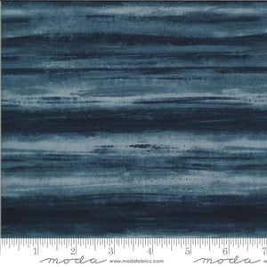 Fabric - Blenders The Blues Gatsby Duke Navy