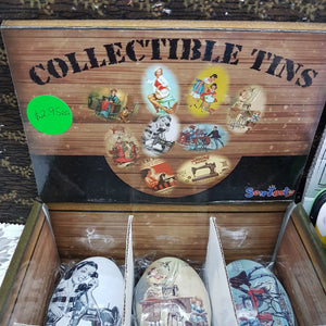 Haby - Sewing Gifts Tin Collectable Display Racey