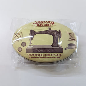 Haby - Sewing Gifts Tin Collectable Display Sewing Machine