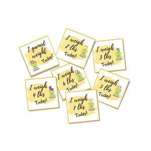 Weight Gain, Set of 7