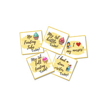 Load image into Gallery viewer, Baby's Feeding Wins, Set of 6