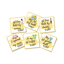 Load image into Gallery viewer, Baby's Firsts, Set of 6