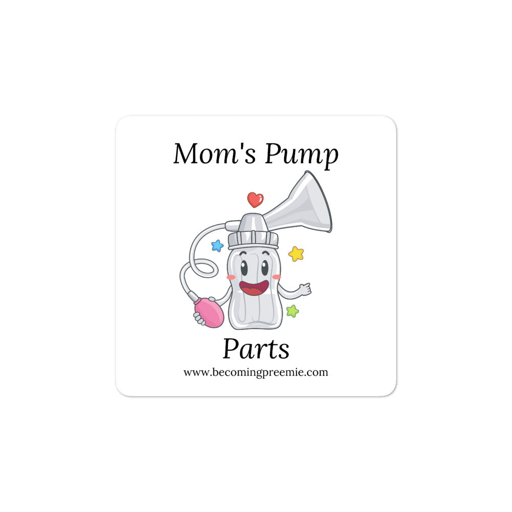 Hospital Bucket Decorating Stickers - Mom's Pump Parts