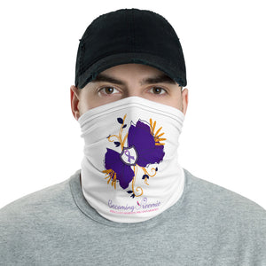 Preemie Flower Face Mask/Headband - Neck Gaiter