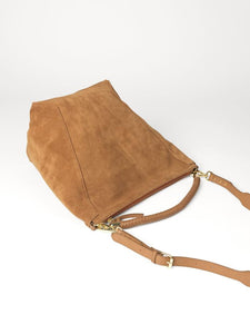 Suede Everly Bag Brown