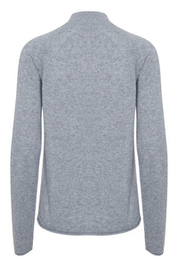 Cu Alaia Turtleneck Grey