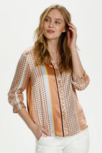 Load image into Gallery viewer, Cufiluka Blouse Brown