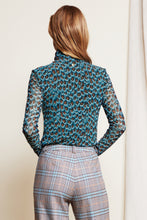 Load image into Gallery viewer, Jane Mesh Top Cashmere Blue