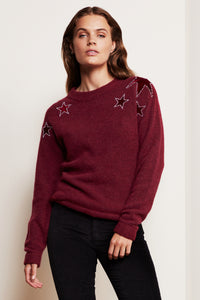 Star Pullover Parrot Purple