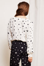 Load image into Gallery viewer, Valerie Top Starry Night White/Black
