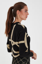 Load image into Gallery viewer, Ihqiana Long Sleeve Black/Gold