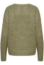 Load image into Gallery viewer, Kaberil Knit Pullover Olive Green
