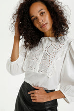 Load image into Gallery viewer, Ka Calista Blouse White