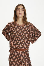 Load image into Gallery viewer, Kahawar Knit Pullover Rusty