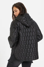 Load image into Gallery viewer, Kamina Quilted Anorak Black
