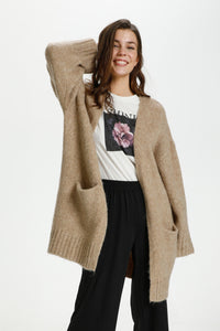 Ka Julita Knit Cardigan Beige