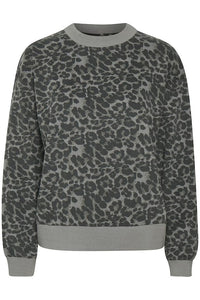 True Kb Grey Animal Sweater Grey