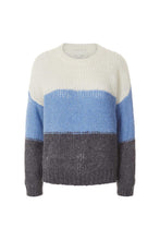 Load image into Gallery viewer, Terry Jumper Blue/White Stripe
