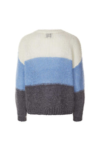 Terry Jumper Blue/White Stripe