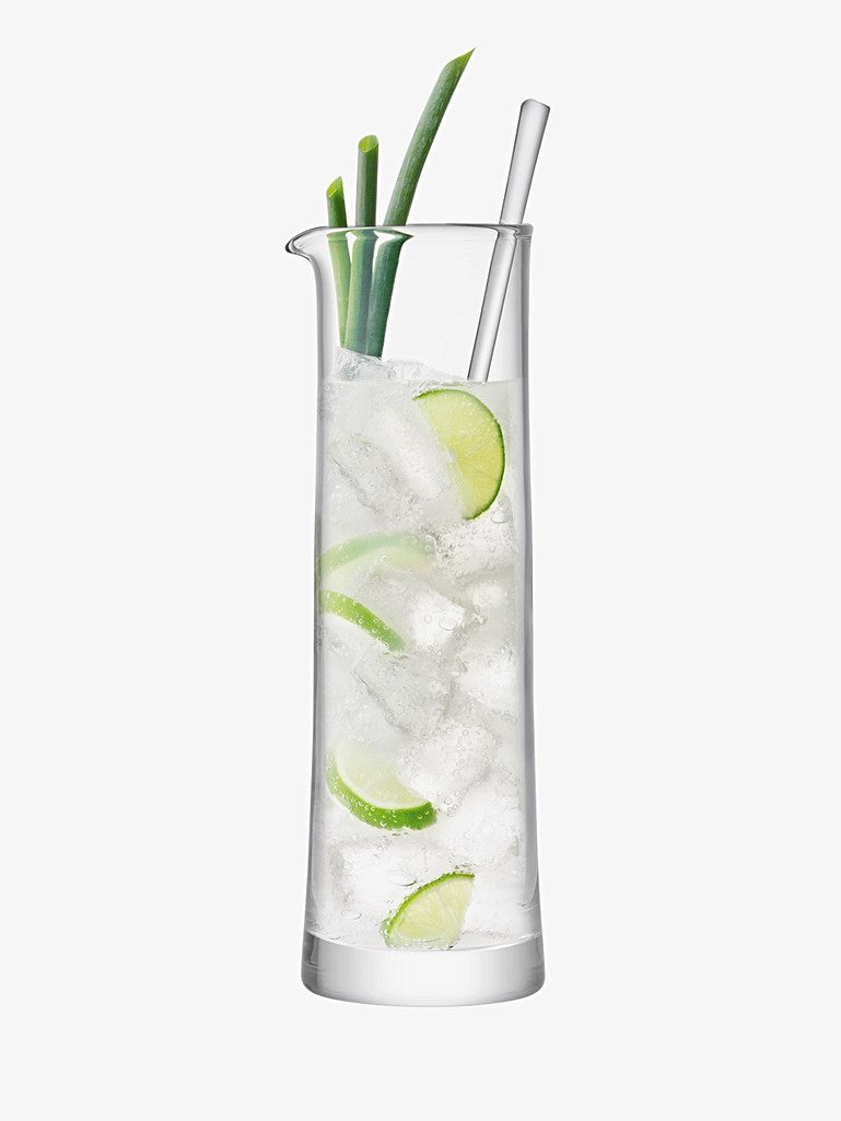 Cocktail Jug And Stirrer Clear