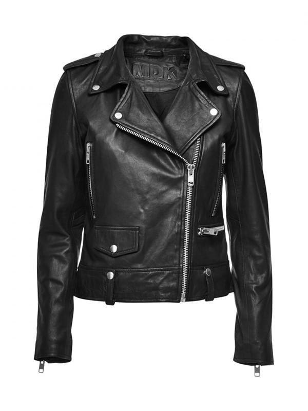 Seattle Leather Jacket Black