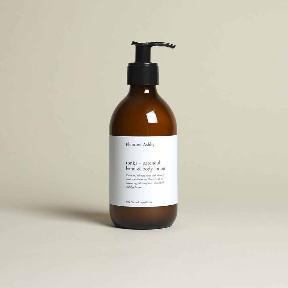 Tonka And Patchouli Lotion .
