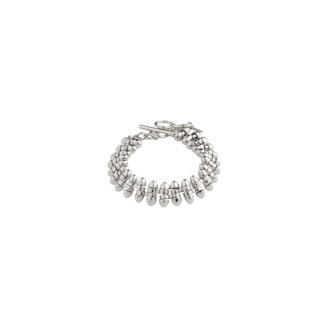 Affection Silver Plated Bracelet Silver