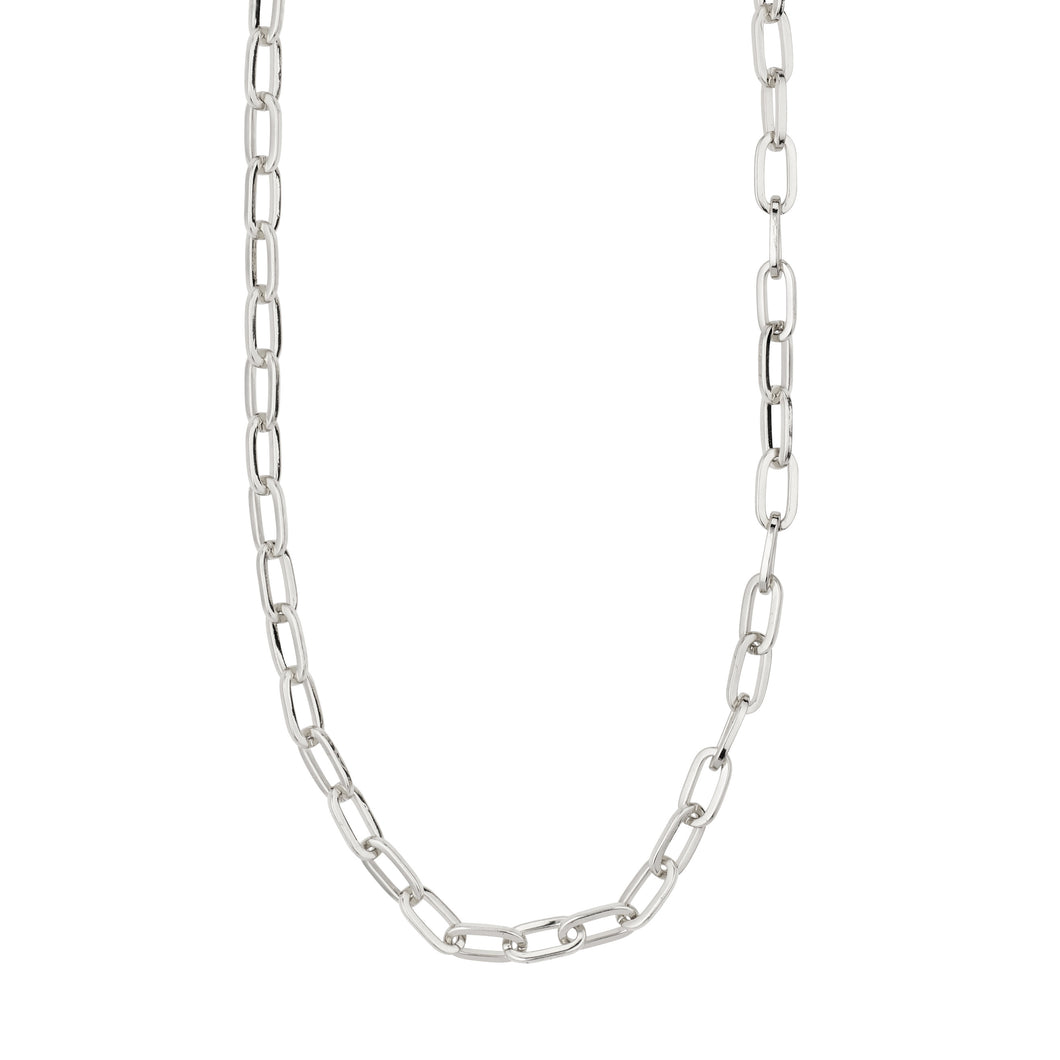 Necklace Bibi Silver Plated White Gold