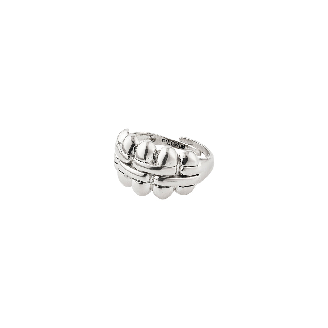 Duna Silver Plated Ring Silver
