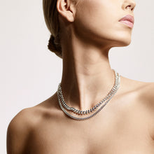 Load image into Gallery viewer, Necklace Water Silver Plated Gold