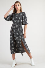 Load image into Gallery viewer, Riley Scatter Spray Dress Black