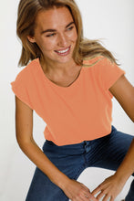 Load image into Gallery viewer, Saint Tropez Adella Tee Coral