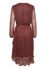 Load image into Gallery viewer, Cleasz Ls Dress Mauve