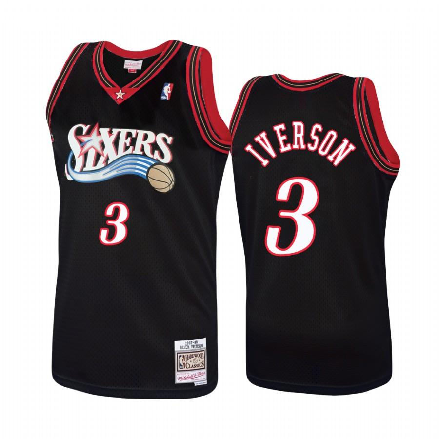 Allen Iverson Retro Sixers Jersey (Home & Away) – Jersey Crates