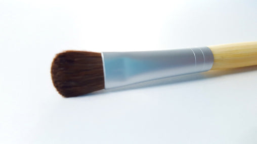 Vegan Eye shadow and Concealer Brush Bamboo Handle