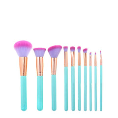 MAKEUP BRUSHES Mermaid Shell Oceana 11 pcs