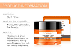NUETRIHERBS Vitamin C Cream - powermakeup