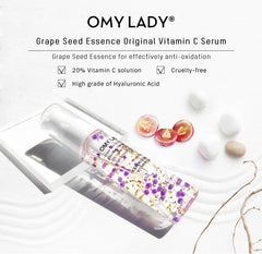 OMY LADY Silk Collagen Face Serum - powermakeup