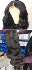 Sleek Brazilian Remy 13x4 Lace Front Human Hair