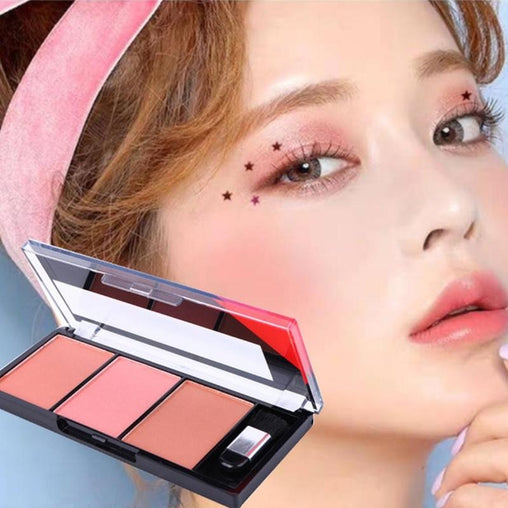 Natural Palette Durable Colors Face Blush