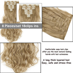 Natural Curly Hair Extensions - powermakeup