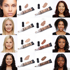 12 Colors Waterproof Liquid foundation - powermakeup