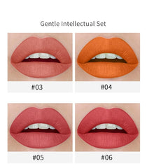New Type 4pcs Cigarette Shape Lipstickl
