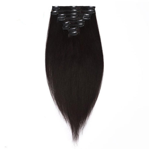 Remy Silky Straight Hair Extensions - powermakeup